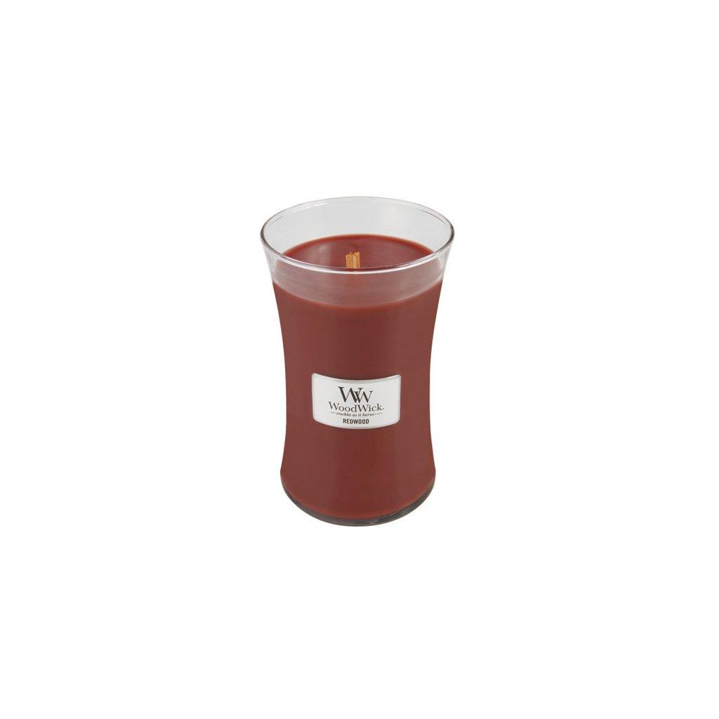 WoodWick - vonná svíčka Santalové dřevo 609g