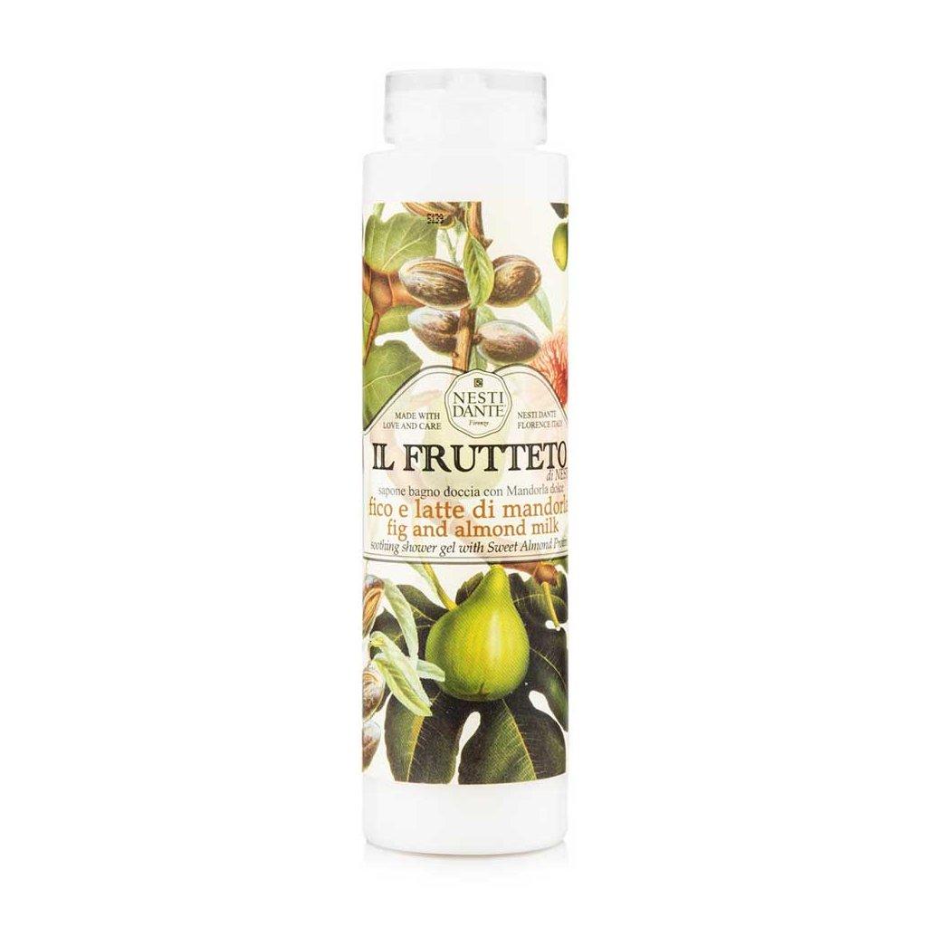 Nesti Dante - přírodní sprchový gel 2v1, Fíkysmandlovým mlékem 300 ml