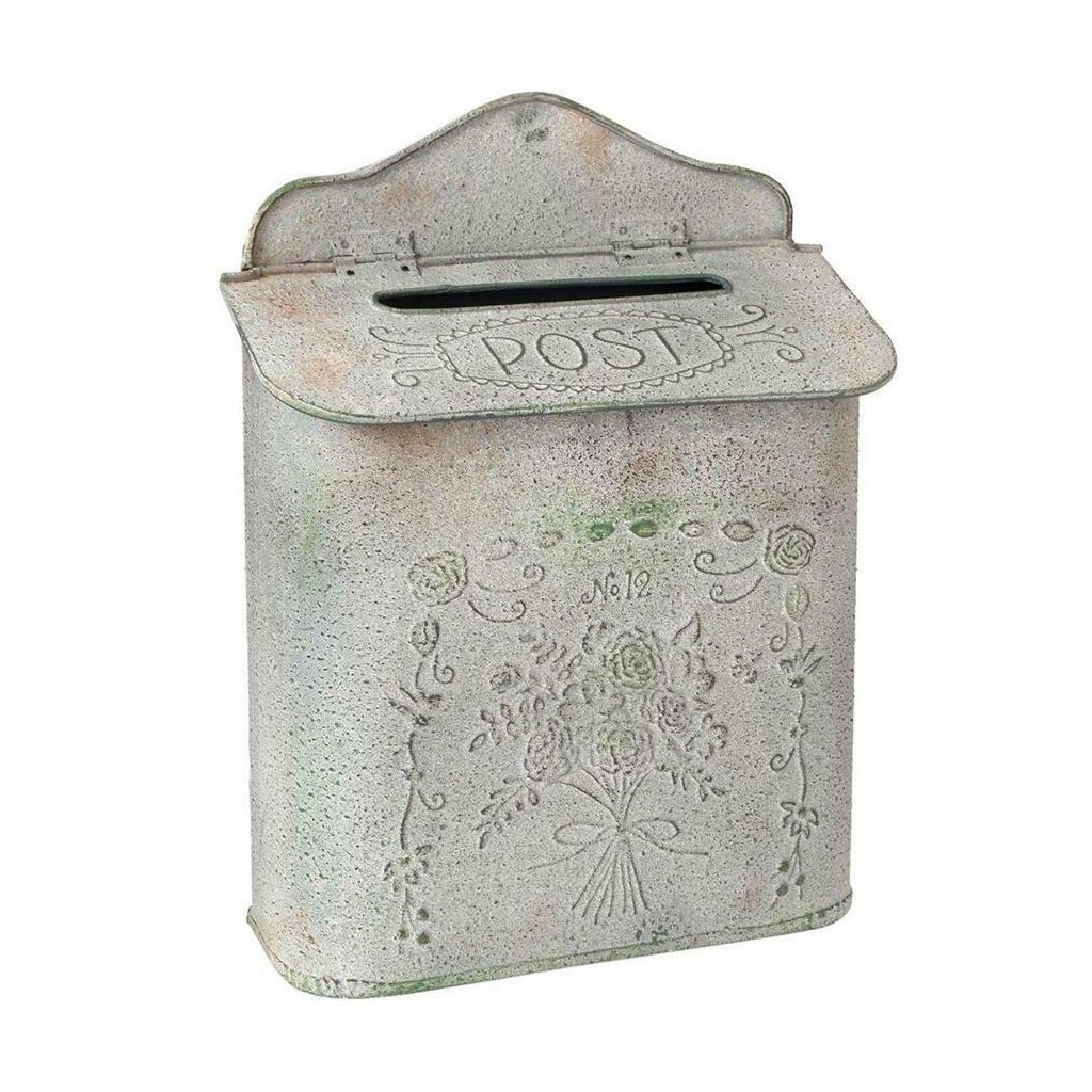 Clayre & Eef - kovová poštovní schránka