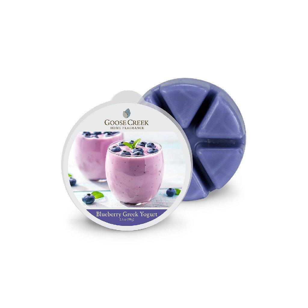Goose Creek - vonný vosk Blueberry Greek Yogurt (Řecký borůvkový jogurt) 59g