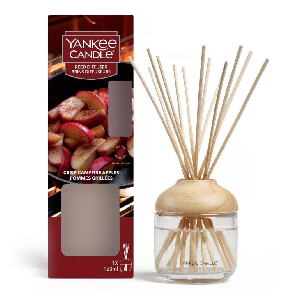 Yankee Candle - aroma difuzér Crisp Campfire Apples (Jablka pečená na ohni) 120 ml