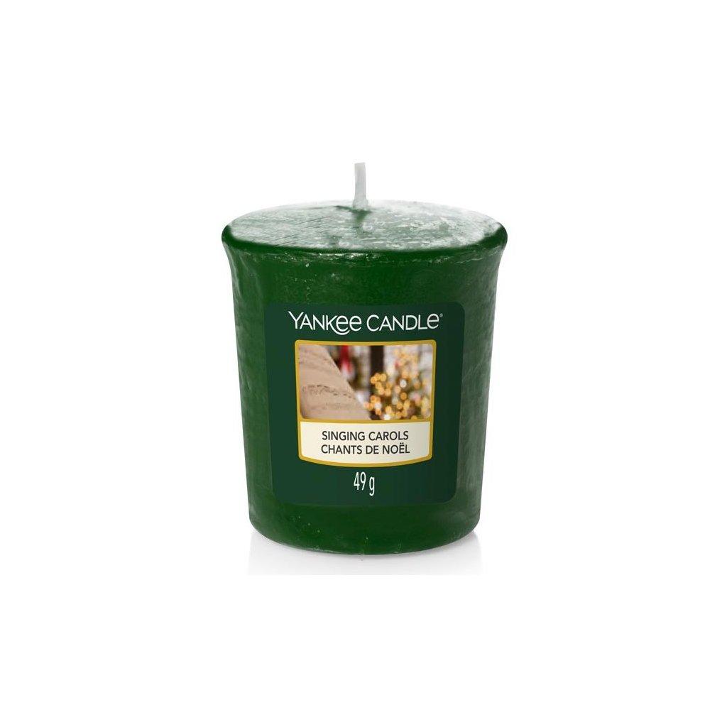 Yankee Candle - votivní svíčka Singing Carols (Zpívání koled) 49g