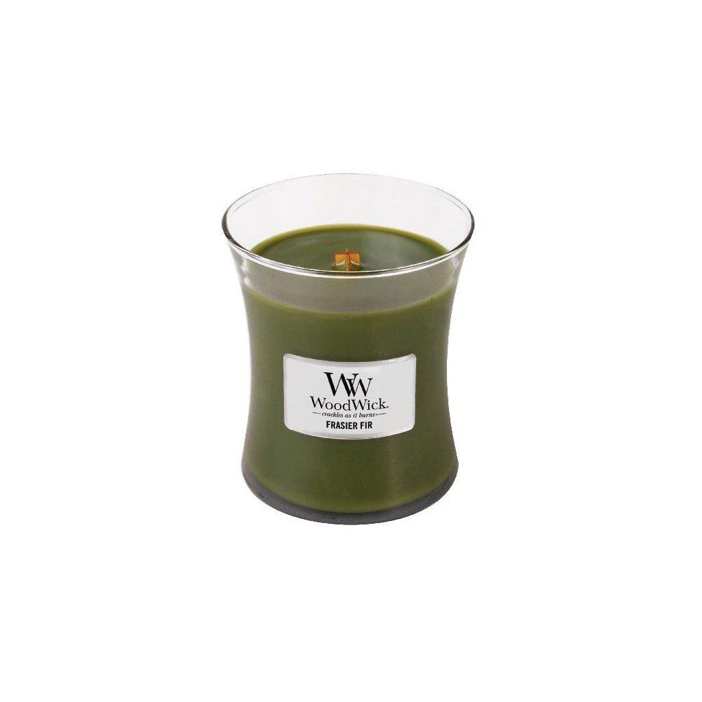 WoodWick - vonná svíčka Frasier Fir (Fraserova jedle) 275g