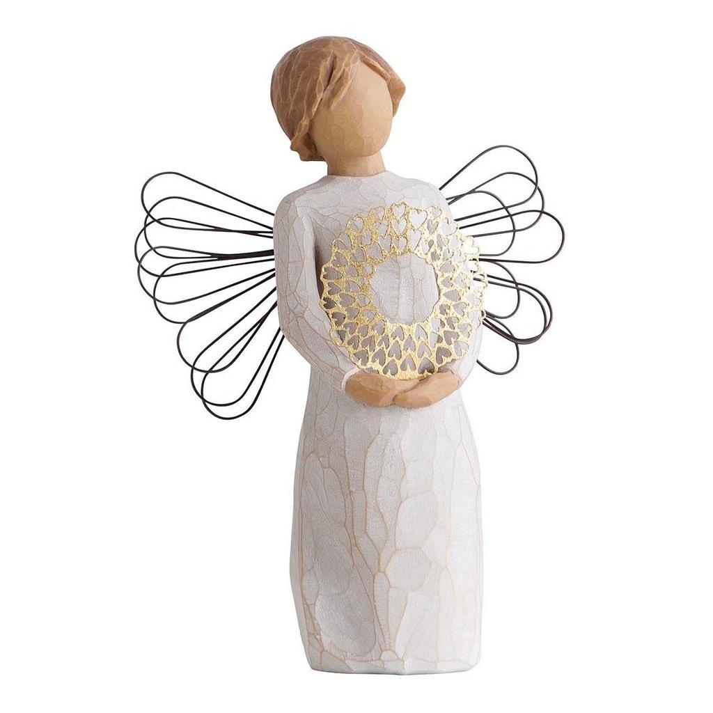 Willow Tree - anděl Zlatíčko
