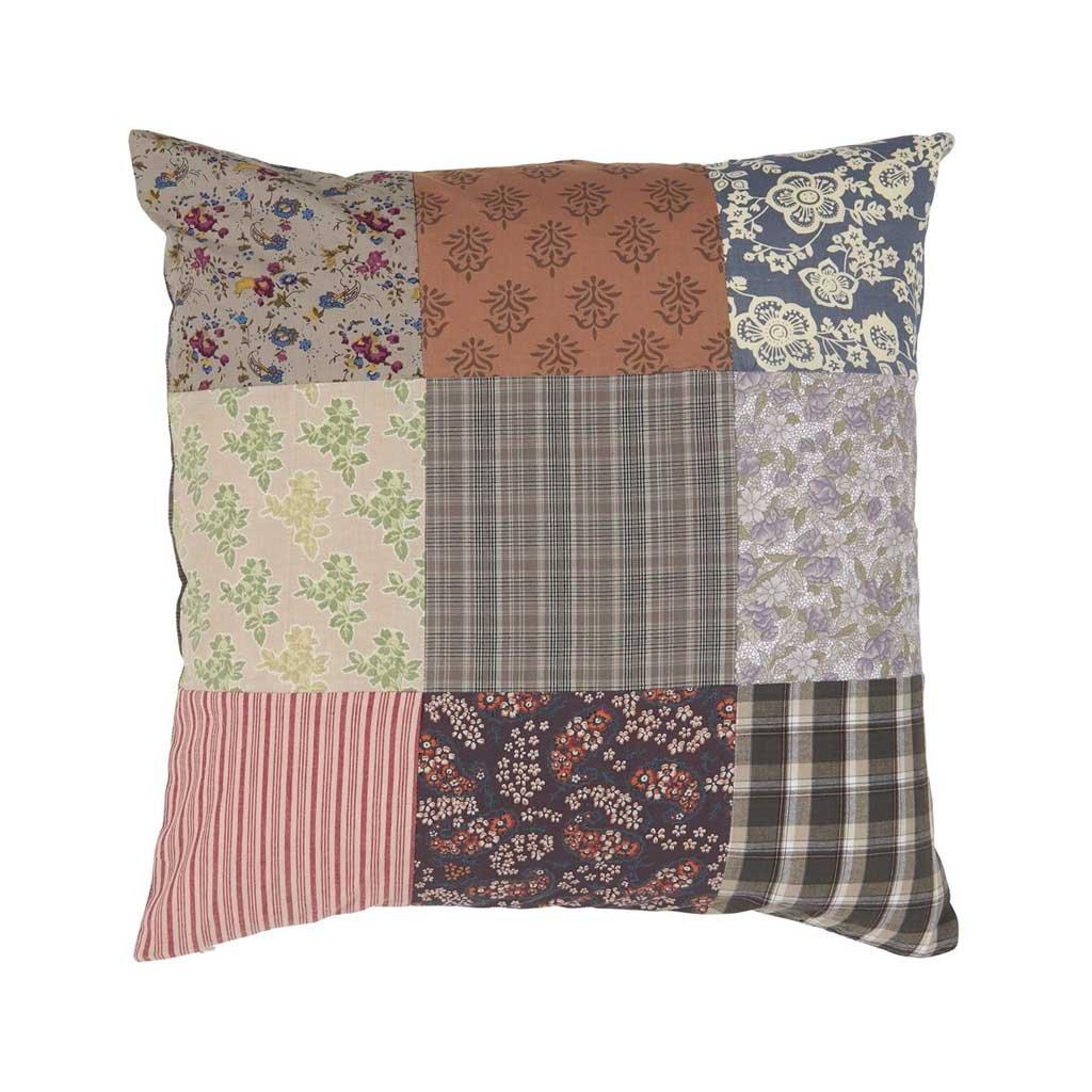 Ib Laursen - povlak na polštář patchwork 50x50 cm