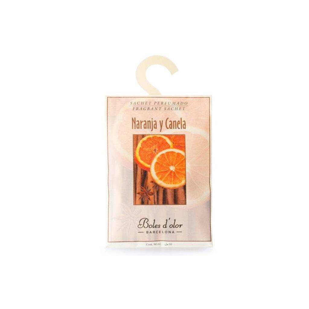 Boles d'olor - vonný sáček Naranja y Canela (Pomeranč a skořice) 90 ml