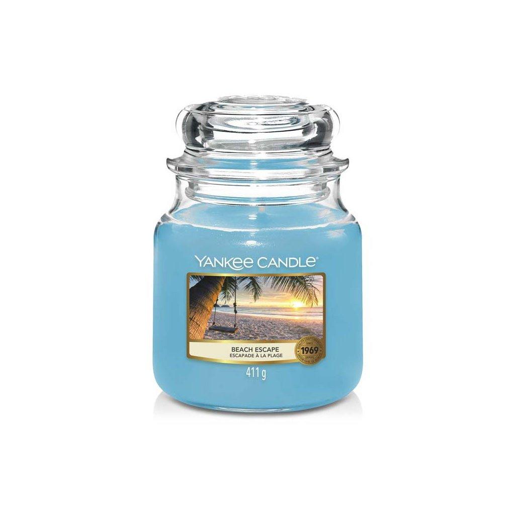 Yankee Candle - vonná svíčka Beach Escape (Únik na pláž) 411g