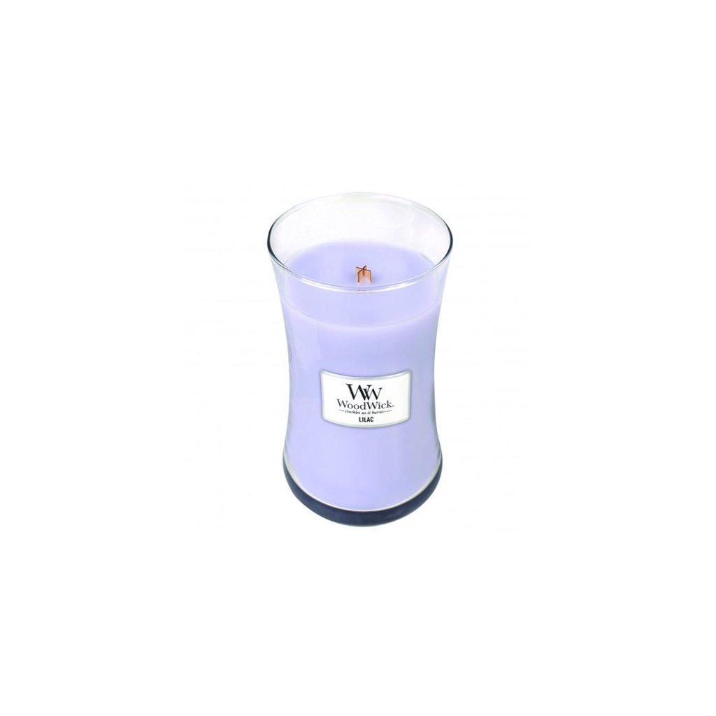 WoodWick - vonná svíčka Lilac (Šeřík) 609g