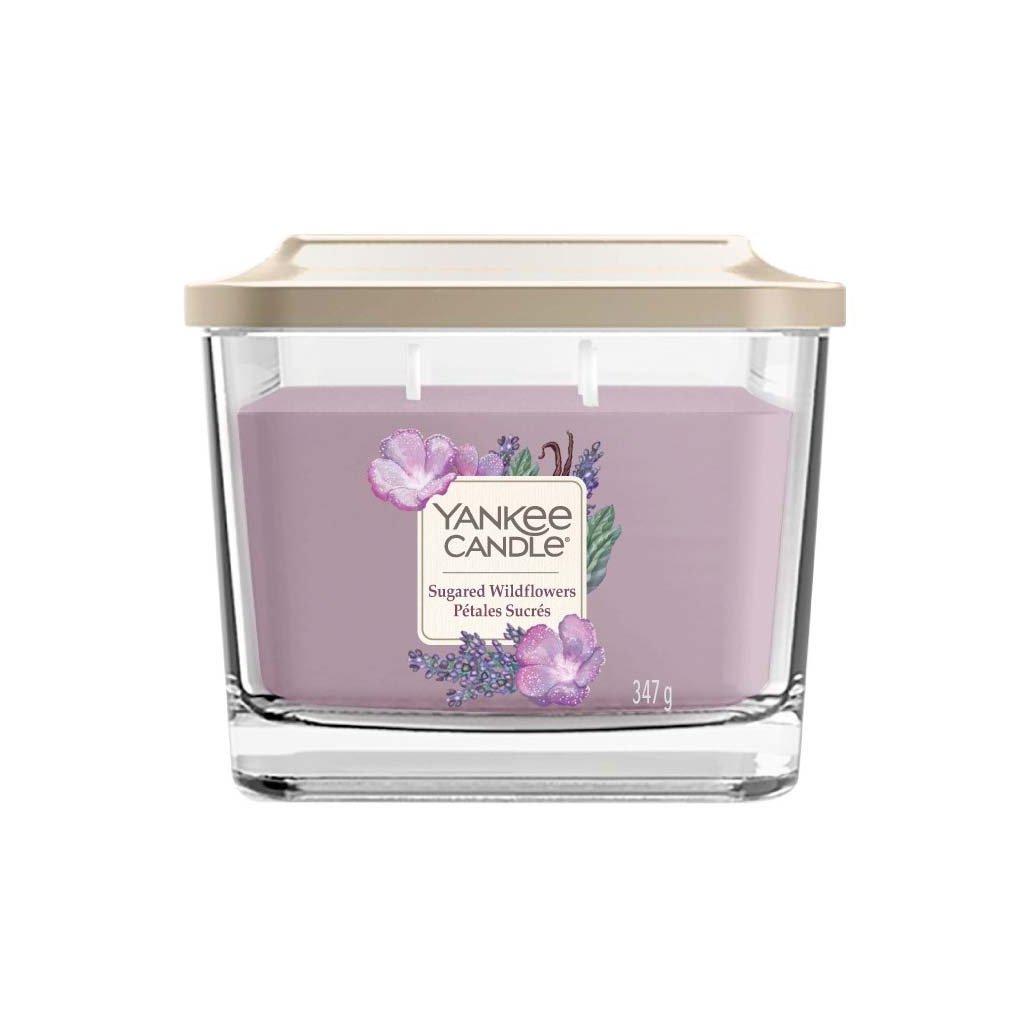 Yankee Candle Elevation - vonná svíčka Sugared Wildflowers (Cukrové divoké květy) 347g