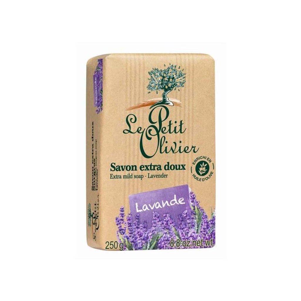 Le Petit Olivier - extra jemné mýdlo Levandule 250g