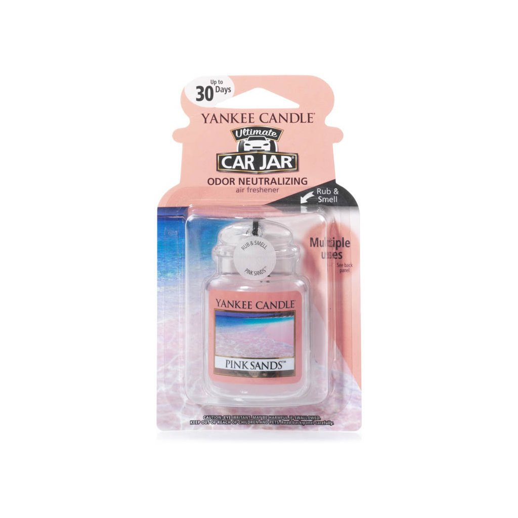 Yankee Candle - gelová visačka do auta Pink Sands 1 ks