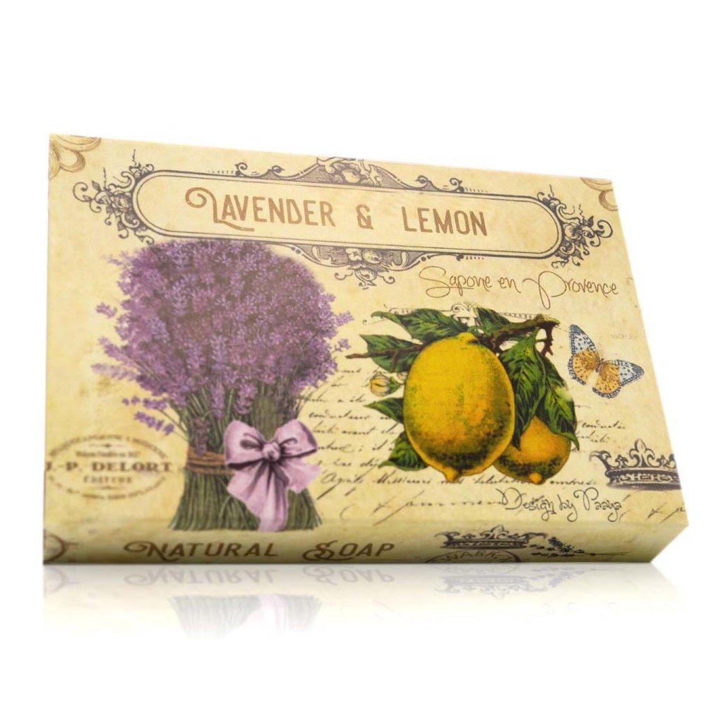 soaptree prirodni mydlo lavender lemon 100g