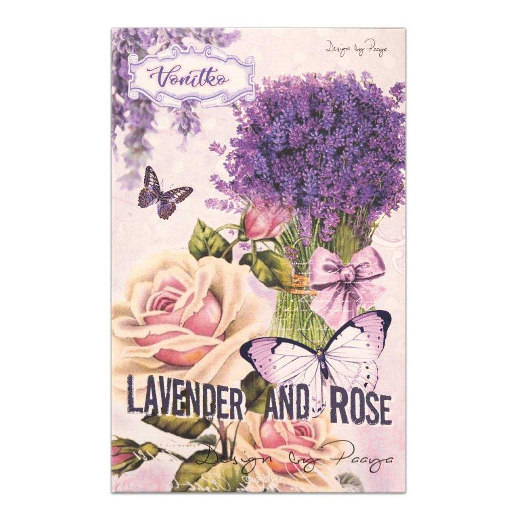 soaptree prirodni vonitko do pradla lavender rose