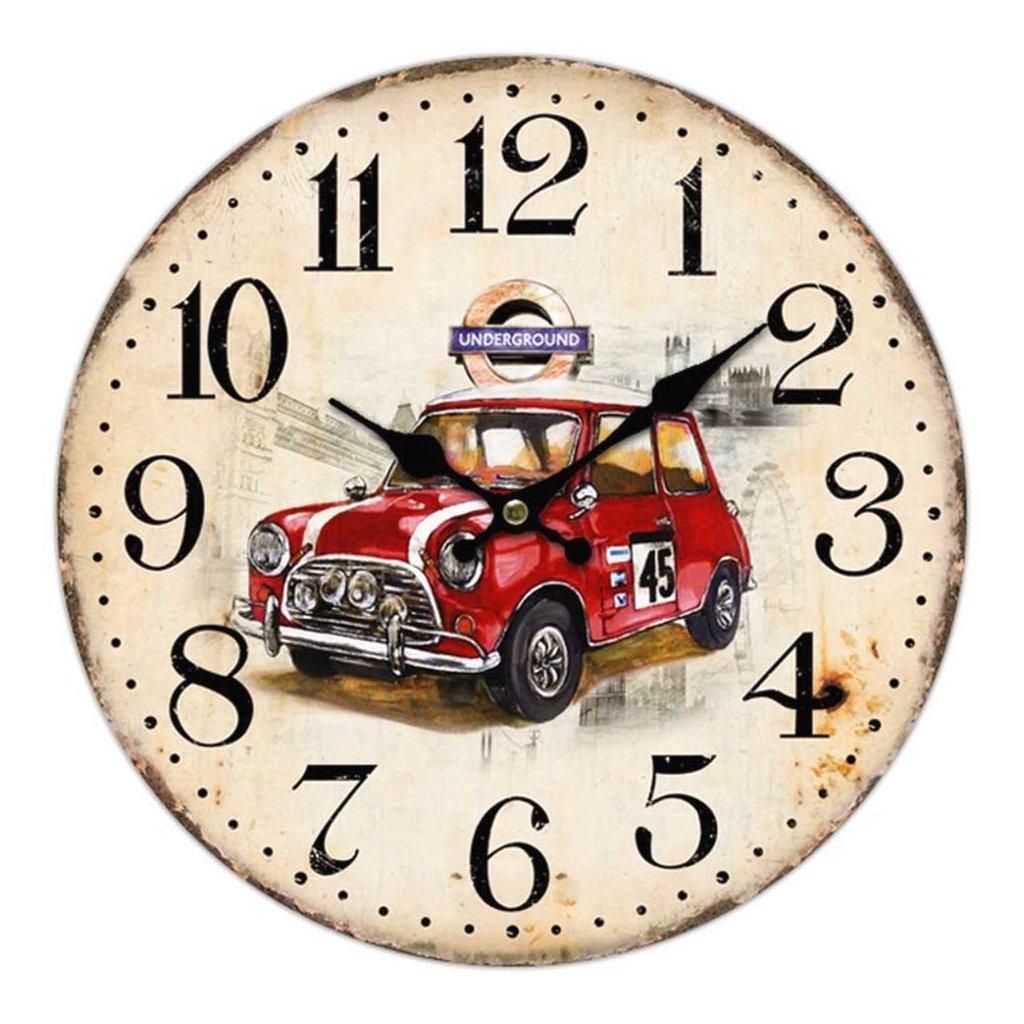 hodiny minicooper 34cm