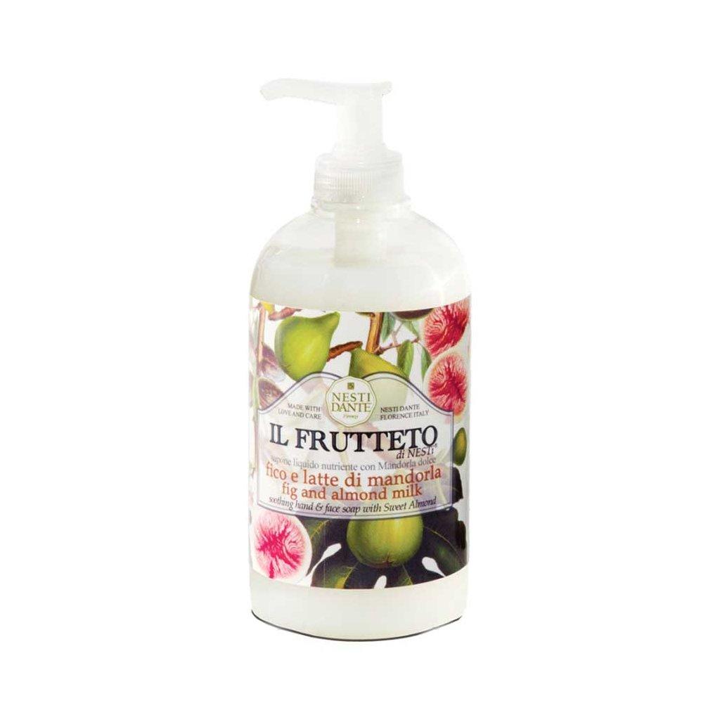 Nesti Dante - přírodní tekuté mýdlo,Fíkysmandlovým mlékem 500 ml
