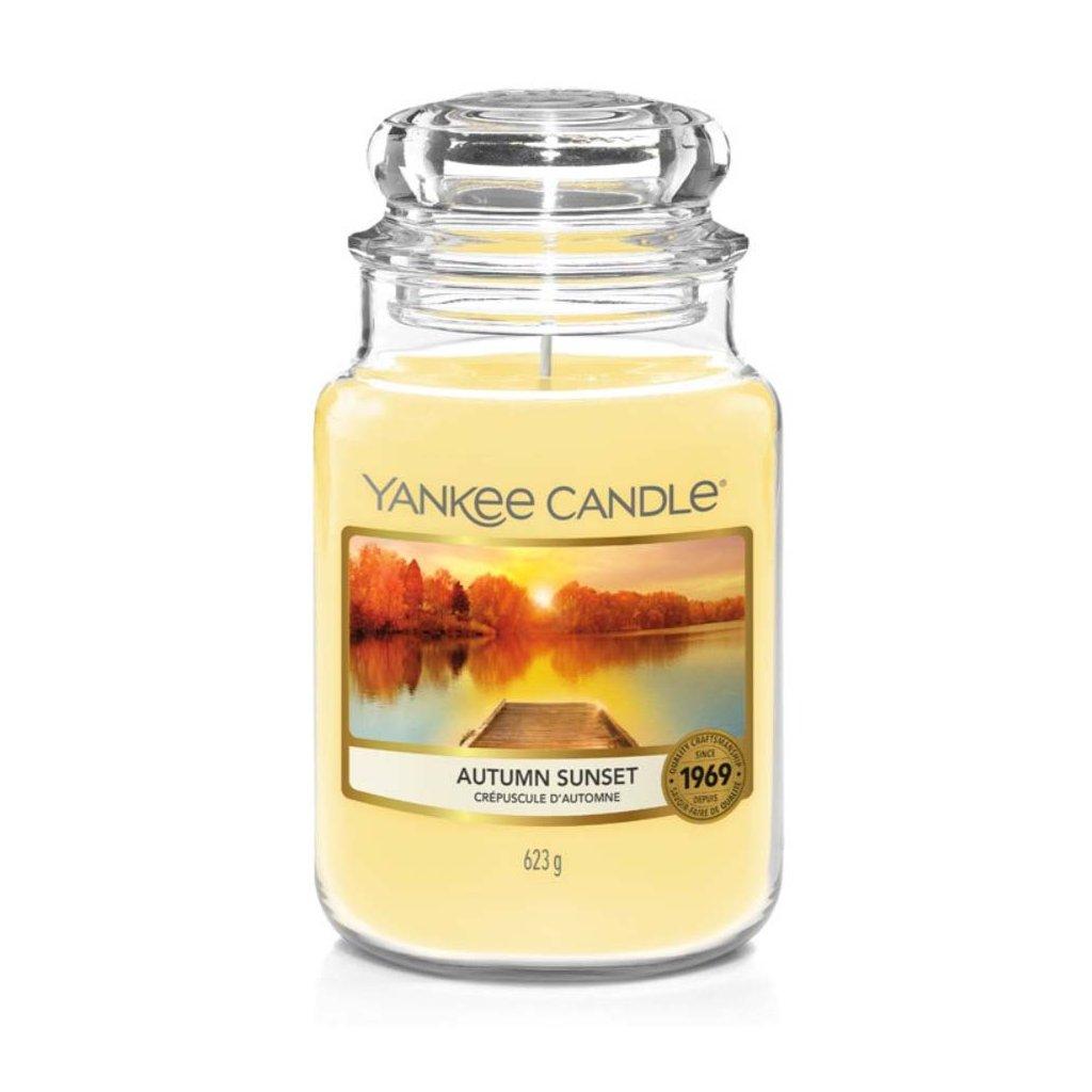 yankee candle autumn sunset svicka velka 1