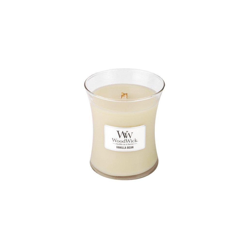 WoodWick - vonná svíčka Vanilla Bean (Vanilka) 275g