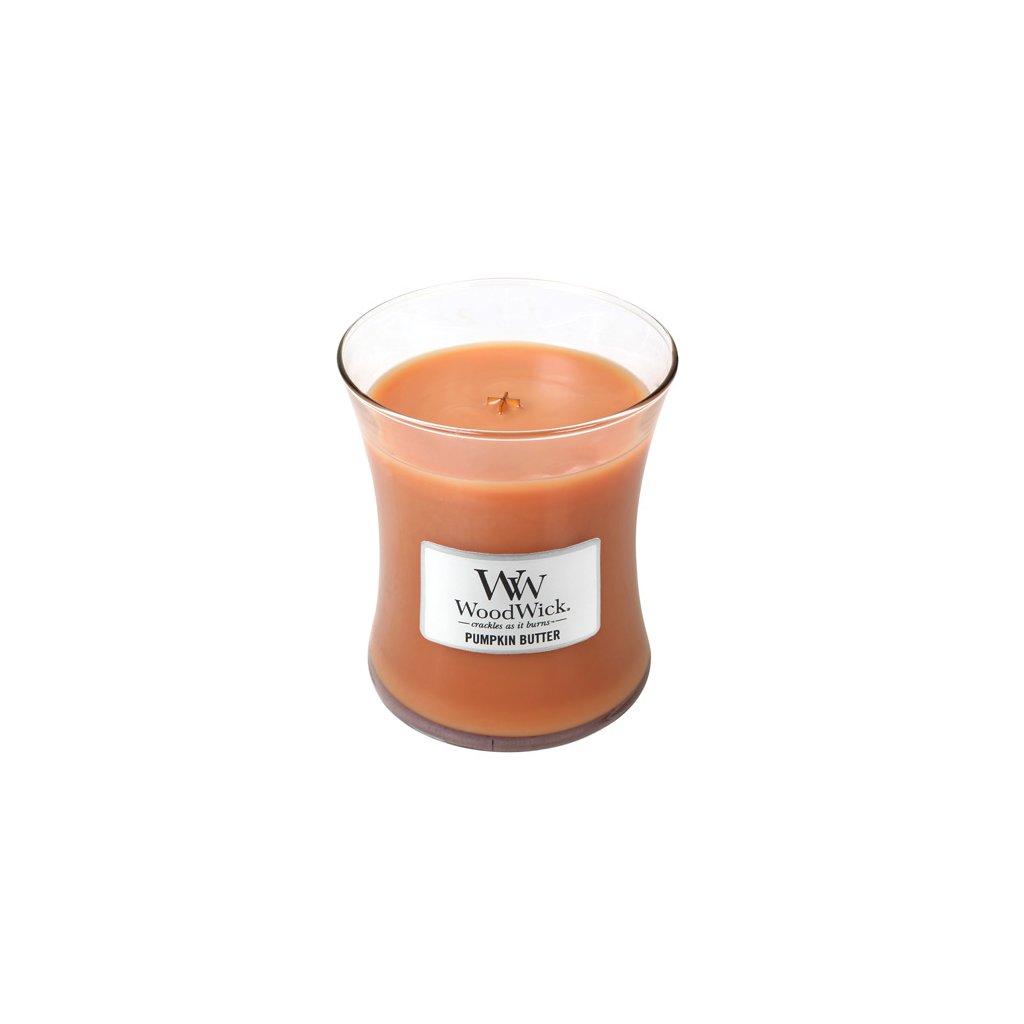 WoodWick - vonná svíčka Máslová dýně 275g