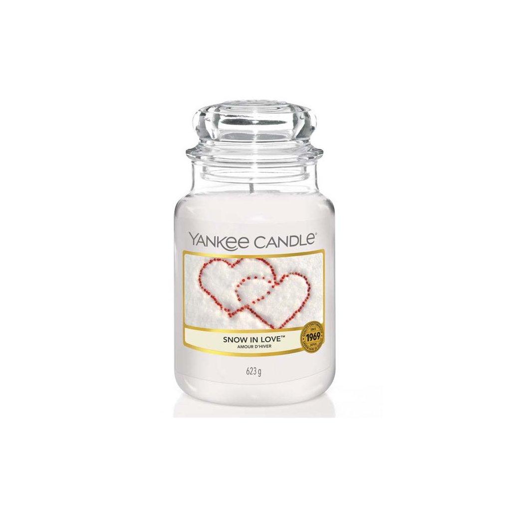 Yankee Candle - vonná svíčka Snow in Love 623g
