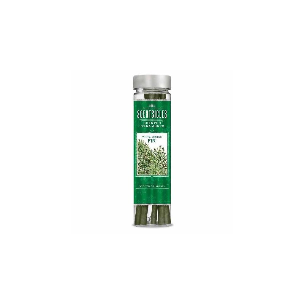 ScentSicles - vůně na stromeček White Winter Fir, 6 ks