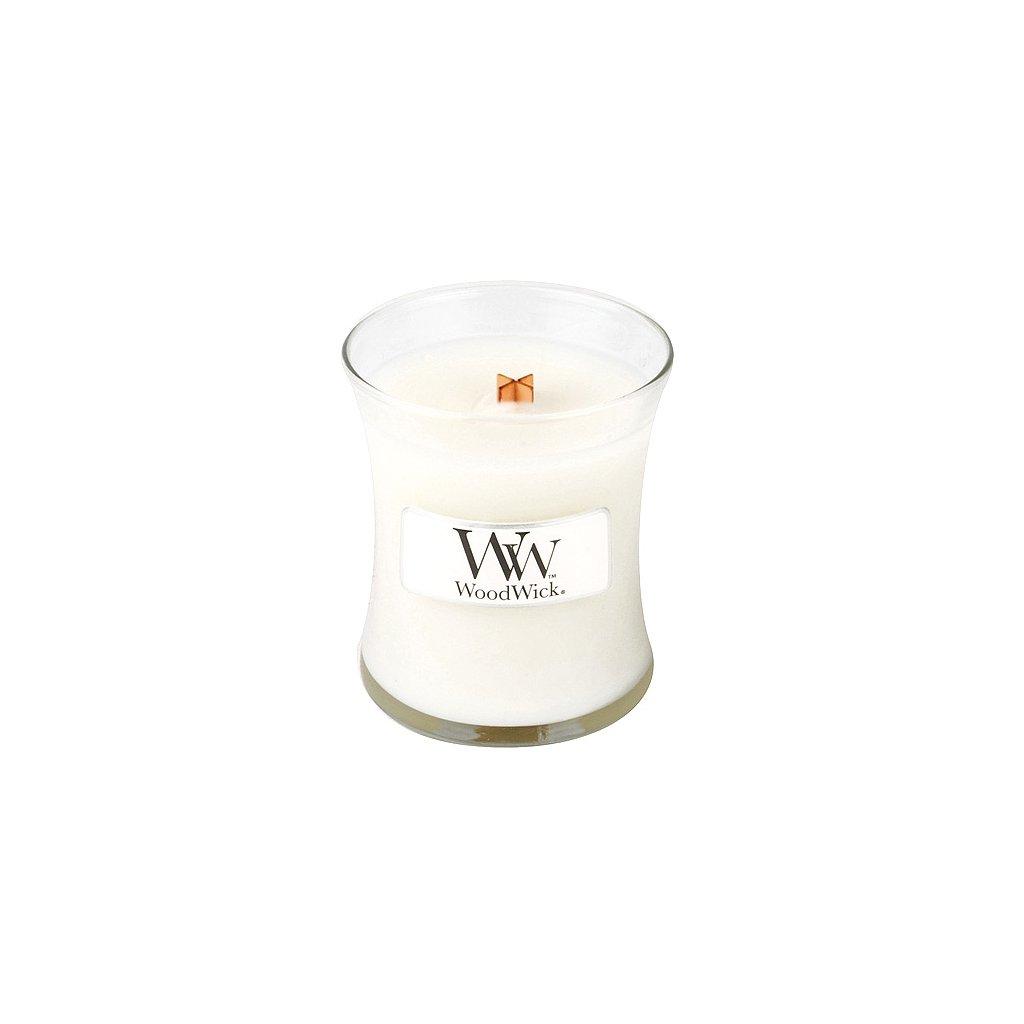 WoodWick - vonná svíčka Čisté prádlo 85g
