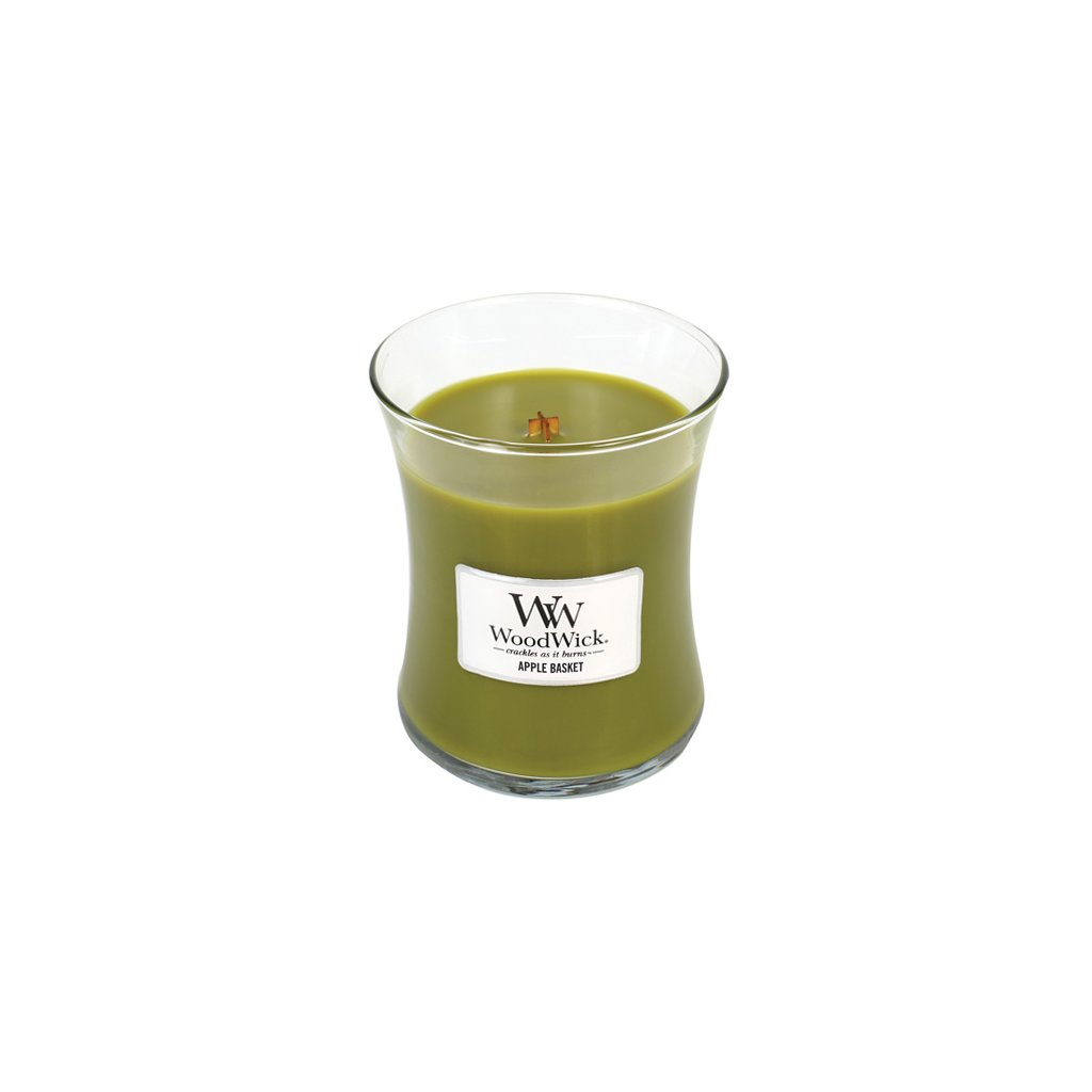 WoodWick - vonná svíčka Košík s jablky 275g