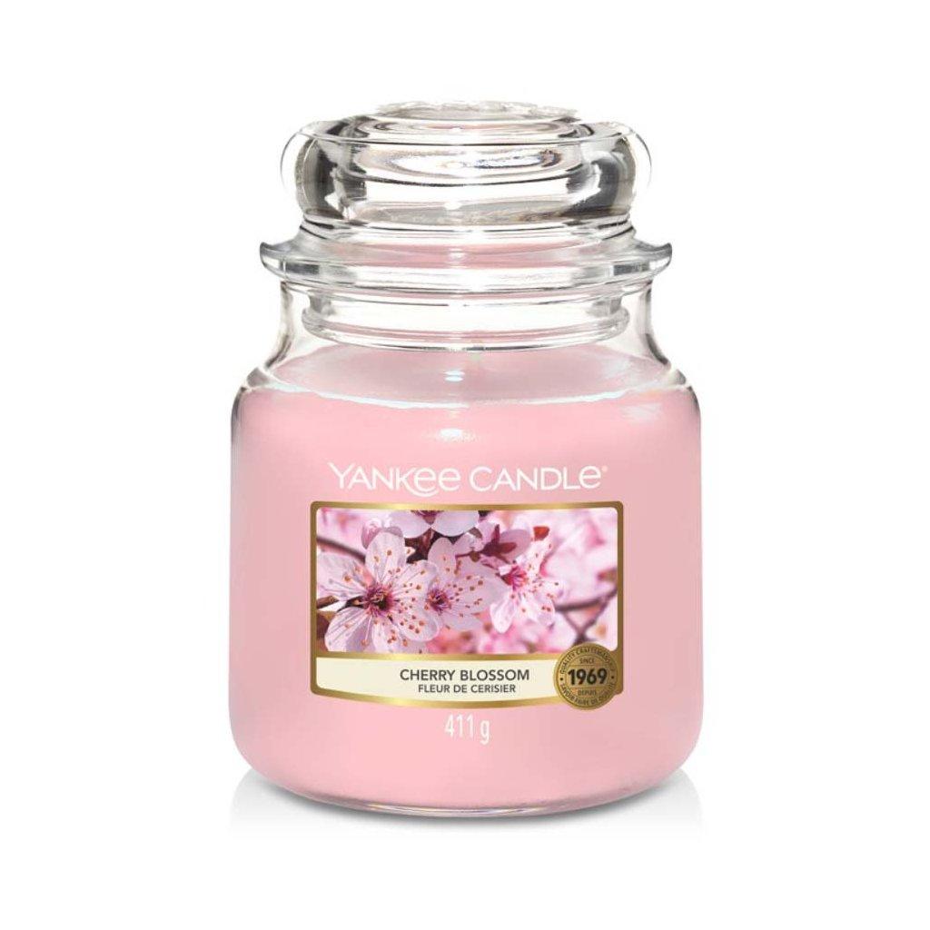 Yankee Candle - vonná svíčka Cherry Blossom 411g