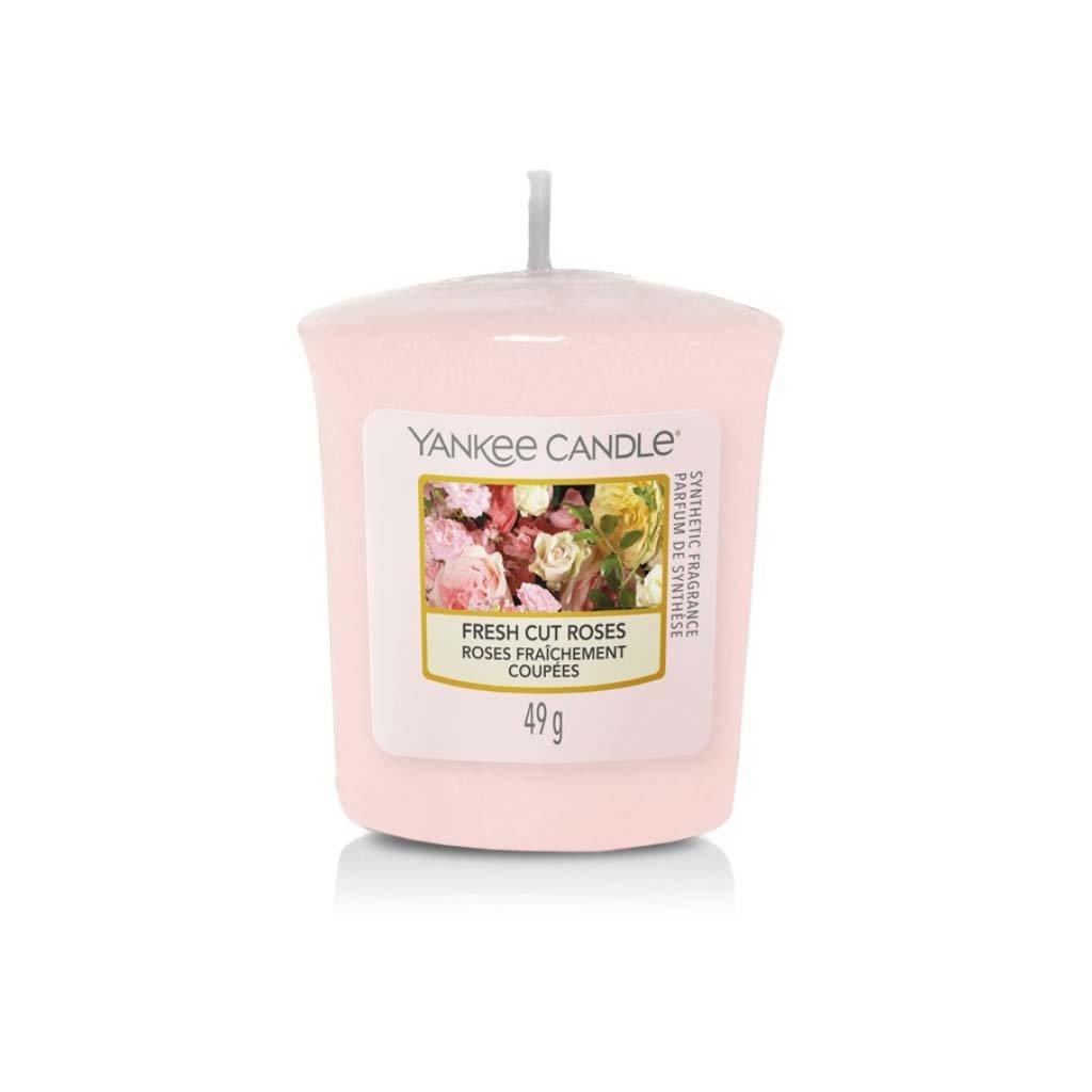 Yankee Candle - votivní svíčka Fresh Cut Roses 49g