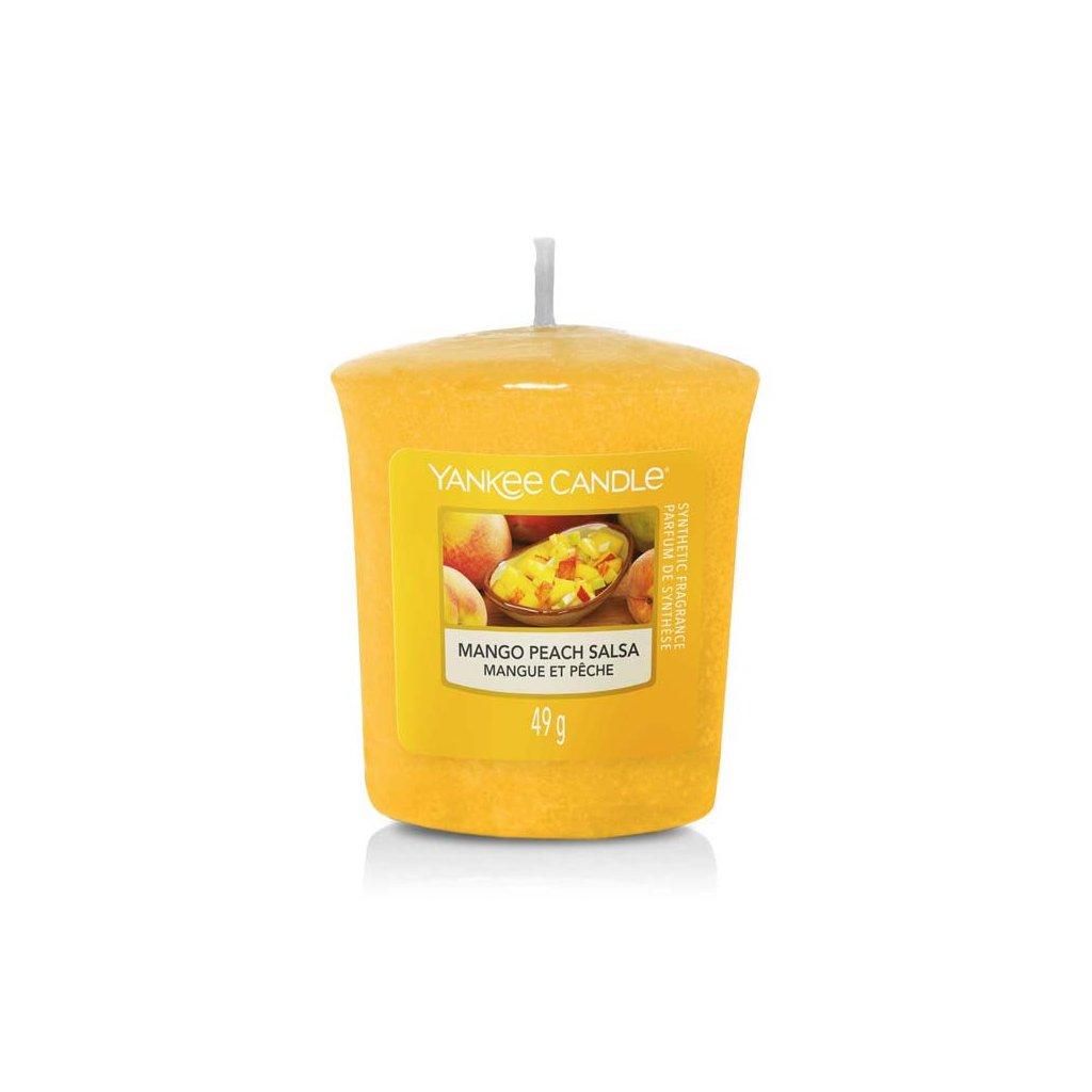 yankee candle mango peach salsa votivni svicka