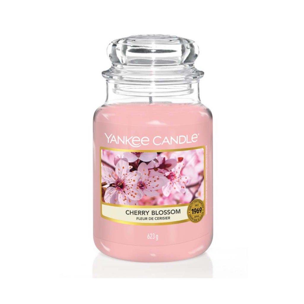 Yankee Candle - vonná svíčka Cherry Blossom 623g