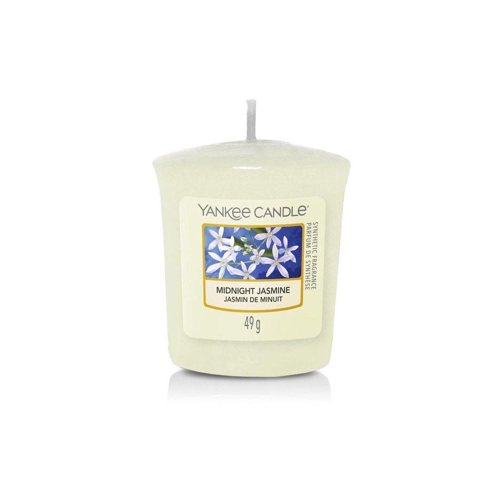 Yankee Candle - votivní svíčka Midnight Jasmine (Půlnoční jasmín) 49g