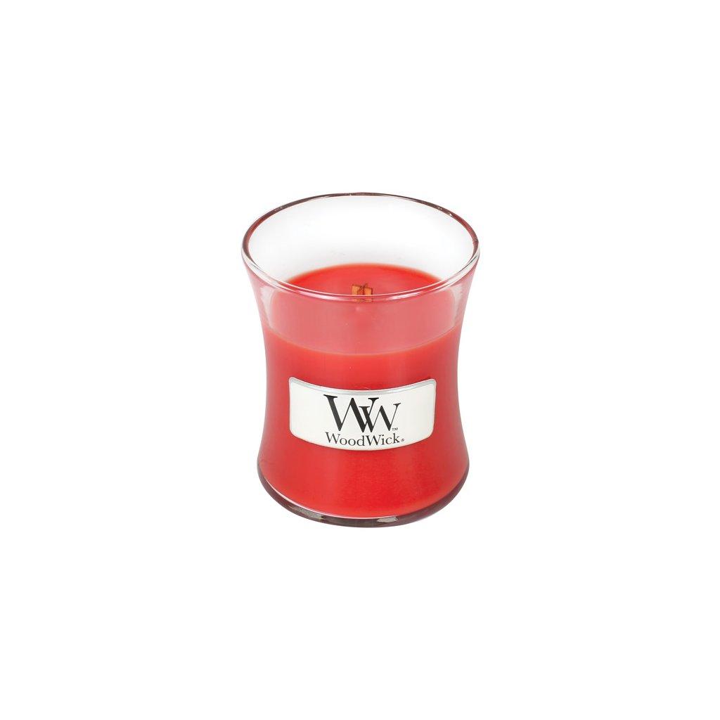 WoodWick - vonná svíčka Červená jeřabina 85g