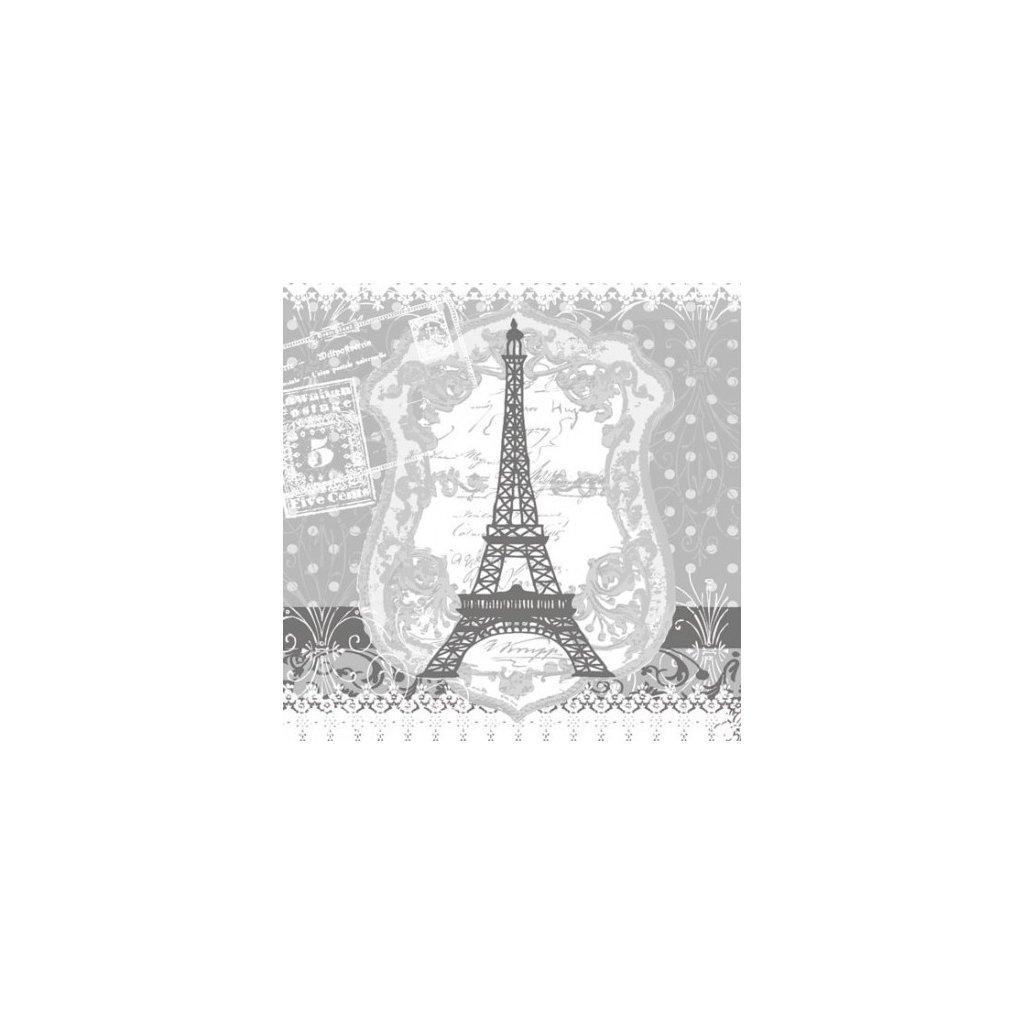 Ubrousky Eiffel Tower 33x33 cm, 20 ks