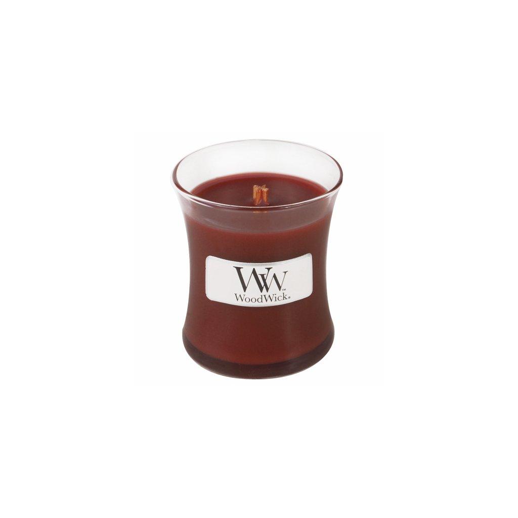 WoodWick - vonná svíčka Santalové dřevo 85g