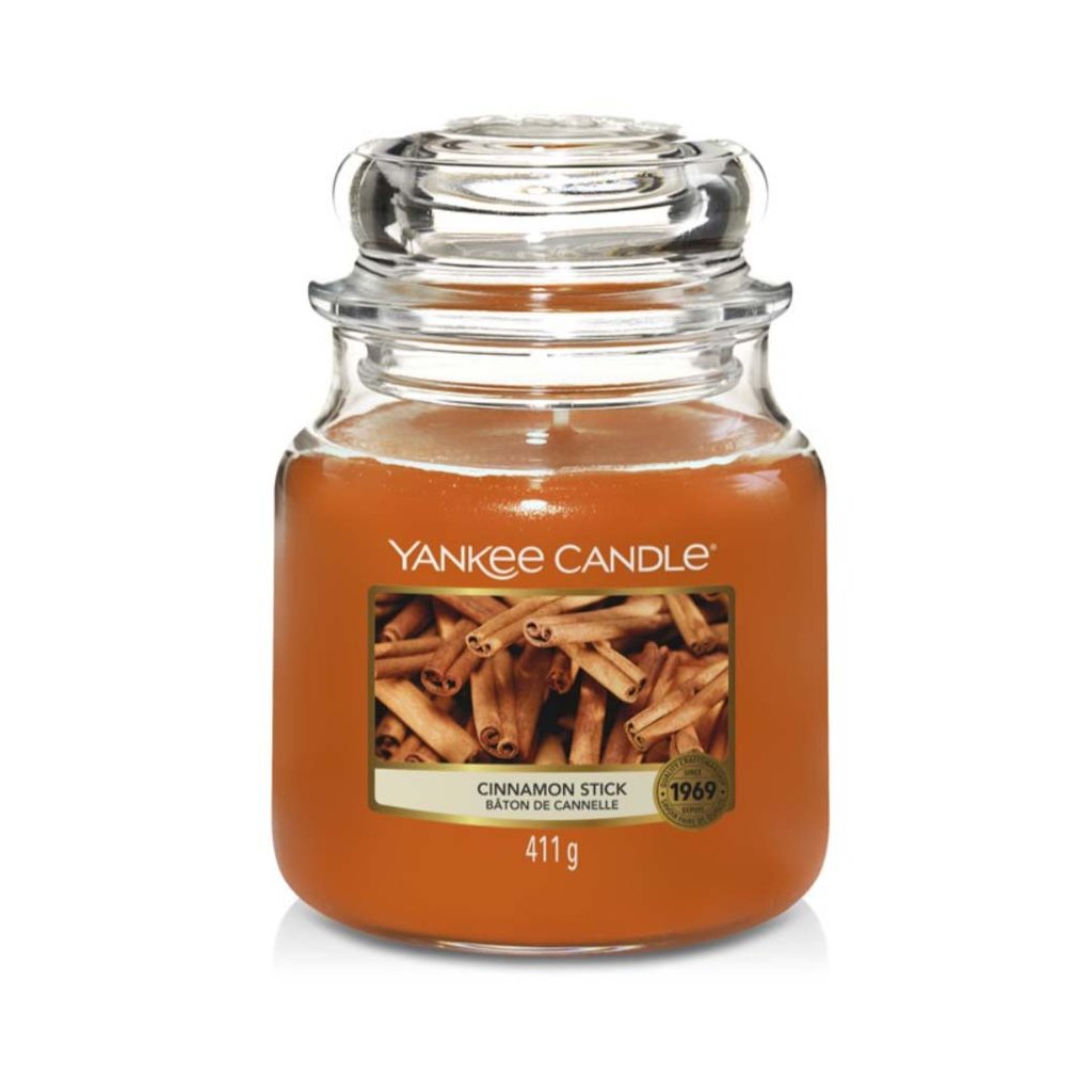 Yankee Candle - vonná svíčka Cinnamon Stick (Skořicová tyčinka) 411g