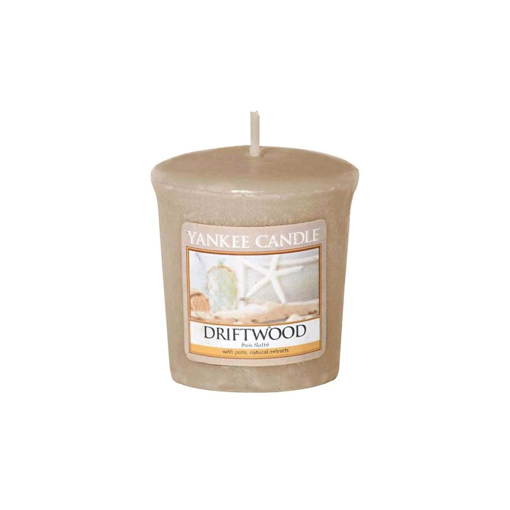 Yankee Candle - votivní svíčka Driftwood 49g