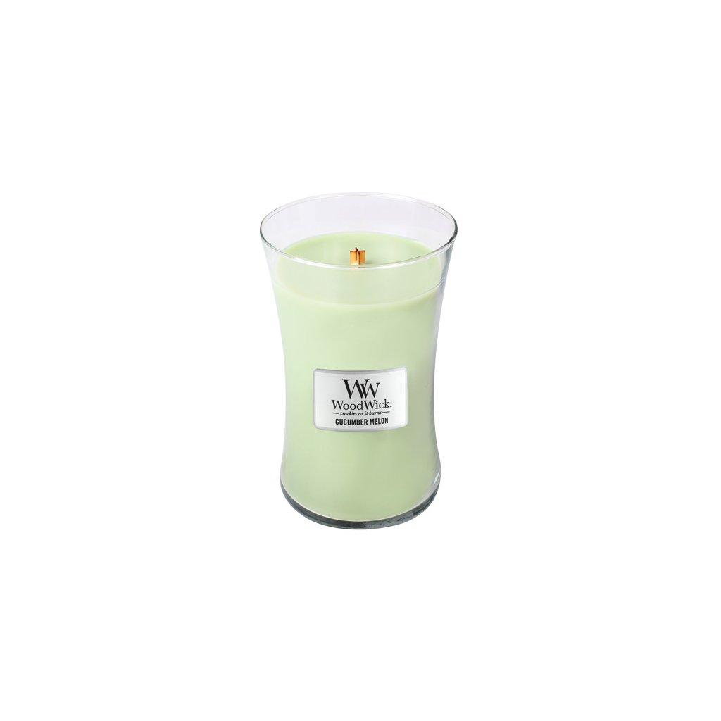 WoodWick - vonná svíčka Okurka a meloun 609g