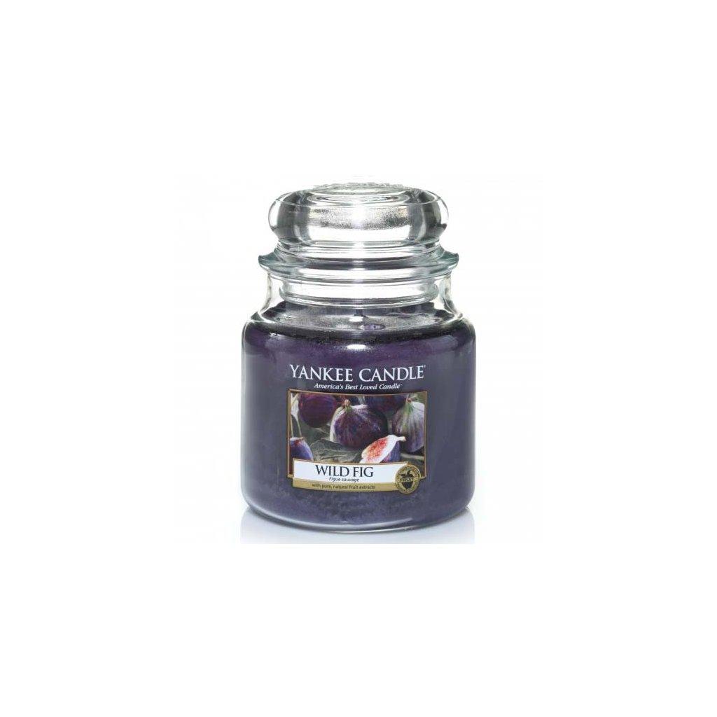 Yankee Candle - vonná svíčka Wild Fig (Divoké fíky) 411g