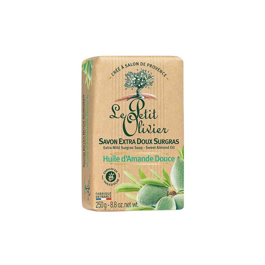 Le Petit Olivier - extra jemné mýdlo Mandlový olej 250g