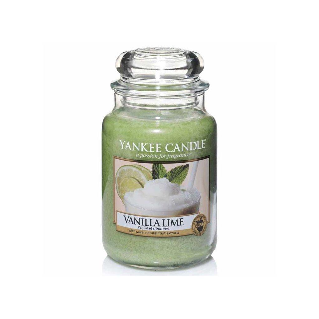 Yankee Candle - vonná svíčka Vanilla Lime (Vanilka slimetou) 623g