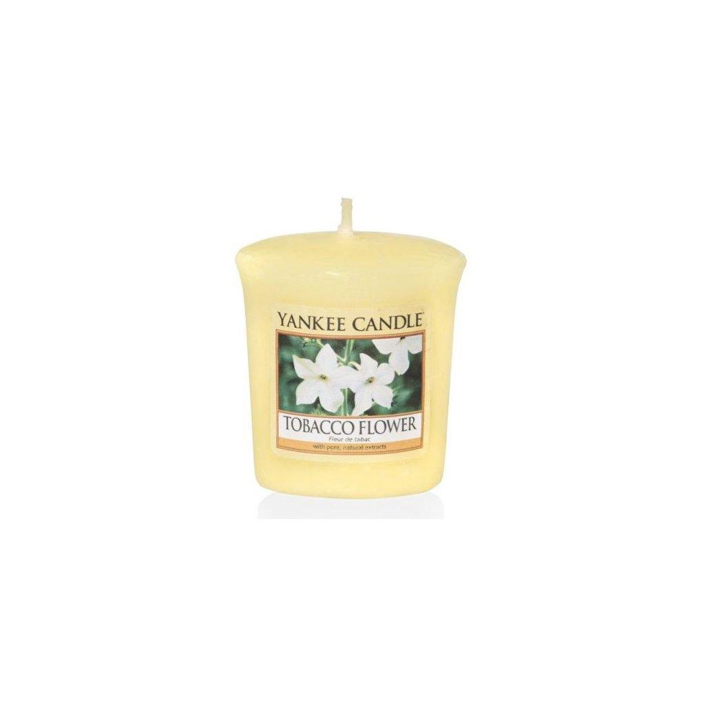 Yankee Candle - votivní svíčka Tobacco Flower 49g