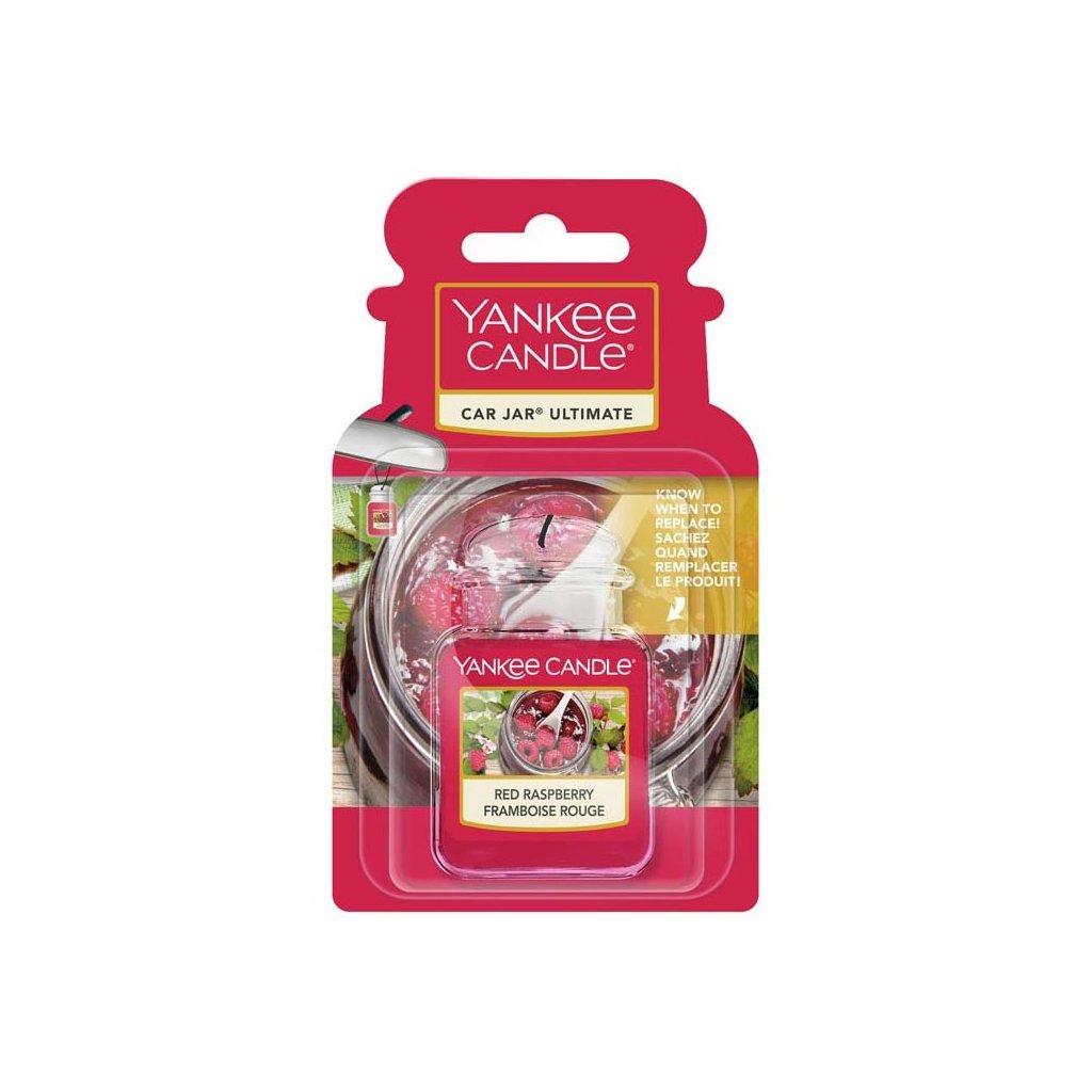 Yankee Candle - gelová visačka do auta Red Raspberry 1 ks