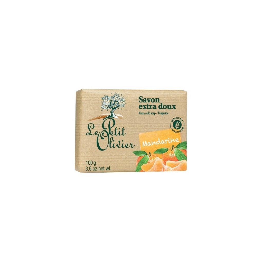 Le Petit Olivier - extra jemné mýdlo Mandarinka 100g