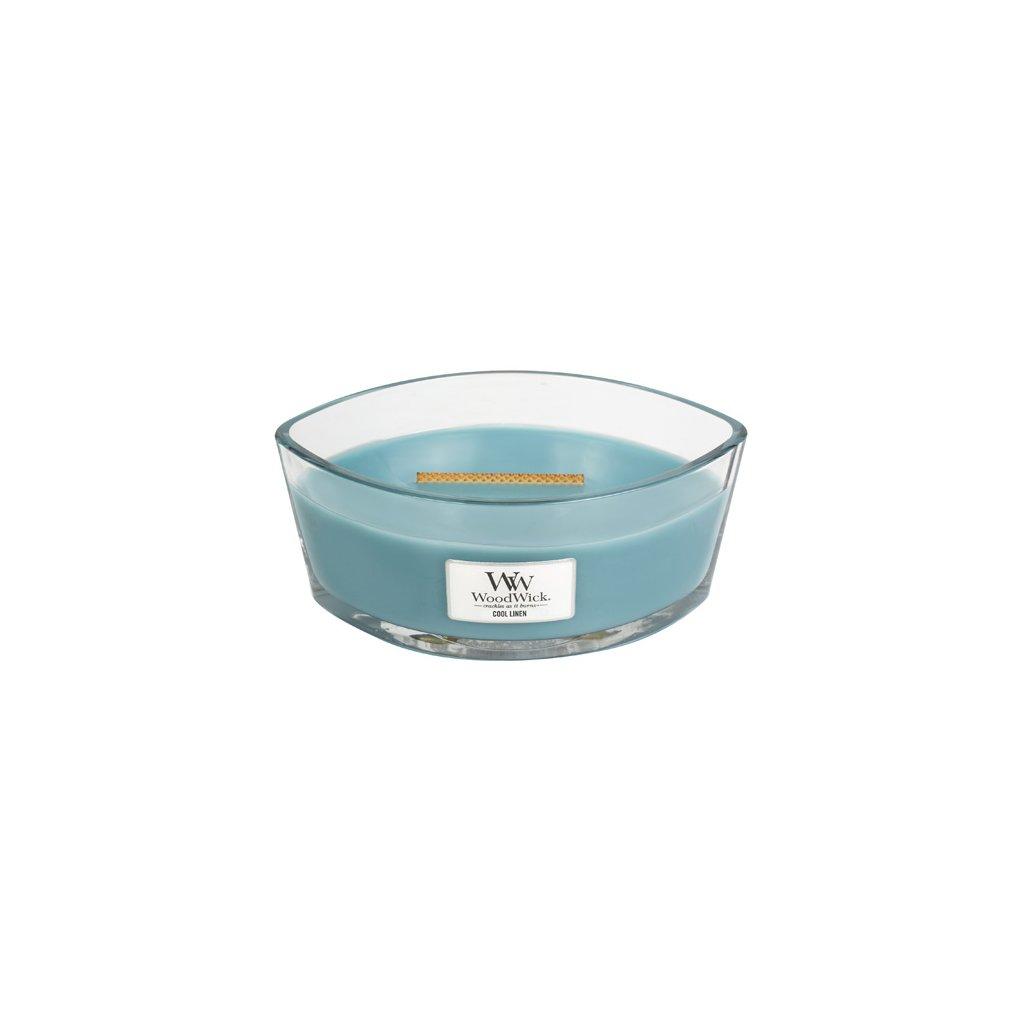 WoodWick - vonná svíčka Svěží prádlo 453g (neutralizuje zápachy)