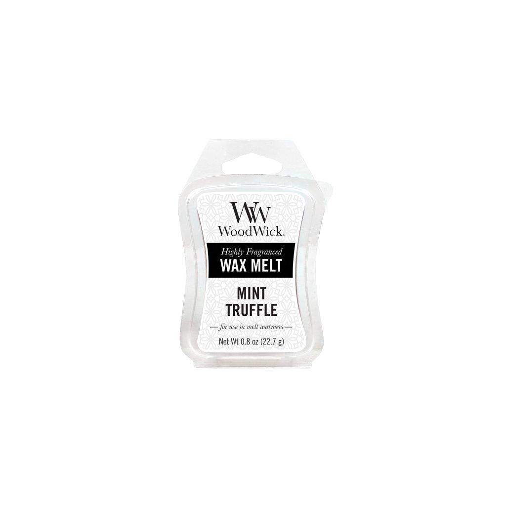WoodWick vonný vosk Mint Truffle (Máta a lanýž) 23g