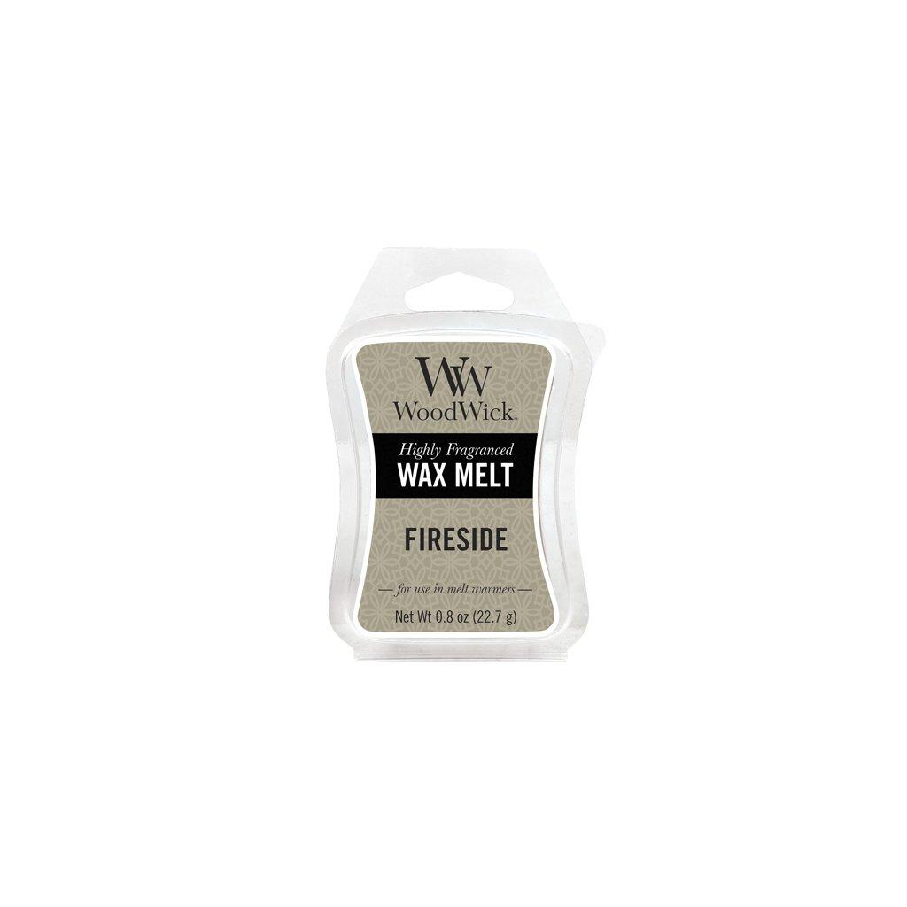 WoodWick vonný vosk Fireside (Oheň v krbu) 23g