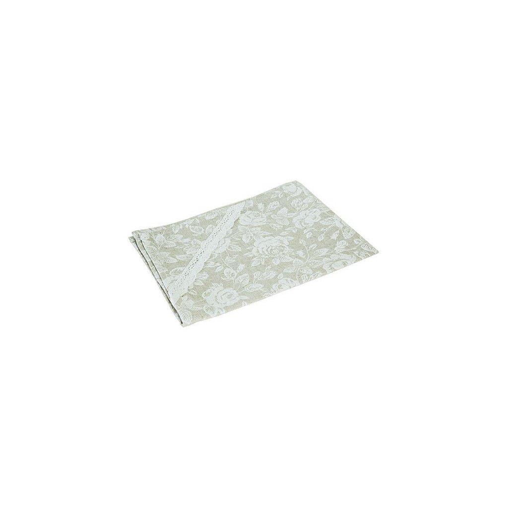 Casa de Engel - prostírání White Rose 35x45 cm