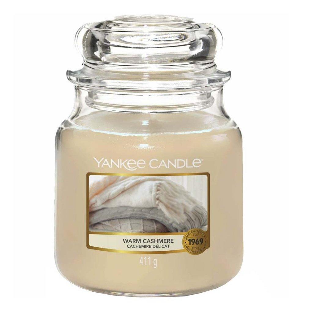 Yankee Candle - vonná svíčka Warm Cashmere (Hřejivý kašmír) 411g