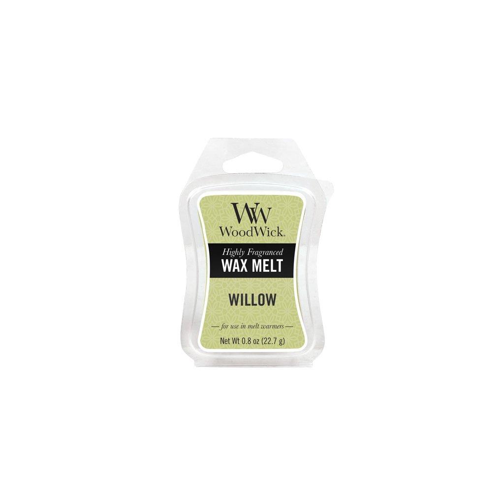 WoodWick vonný vosk Willow (Vrbové květy) 23g