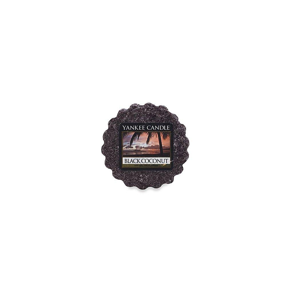 Yankee Candle - vonný vosk Black Coconut (Černý kokos) 22g